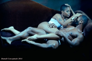 Love and sensuality captured by Photographer  Damali Conceptuals